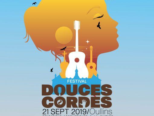 Création d'affiche – Festival Douces cordes Oullins